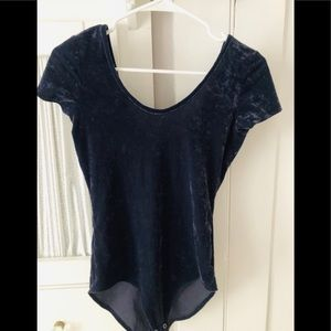Navy blue American Eagle bodysuit